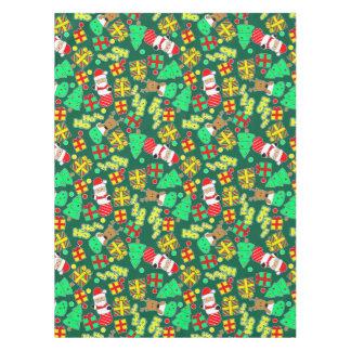 Green - Ho Ho Santa Tablecloth