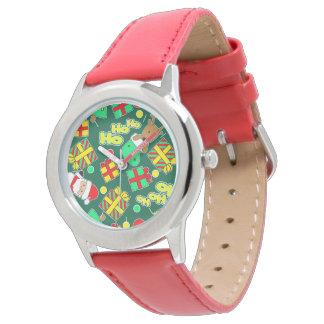 Green - Ho Ho Santa Watch