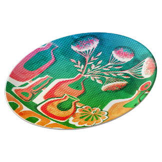 Green home kitchen themed design for cafe  or res plate