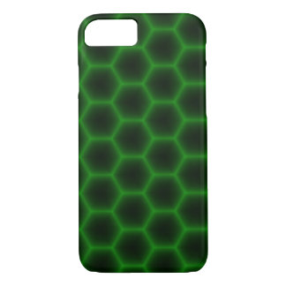 Green Honeycomb iPhone 7 Case