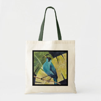 Green Honeycreeper Tote Bag