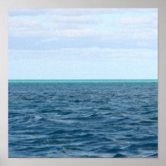 Green Horizon print