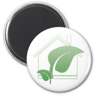 green house 2 inch round magnet