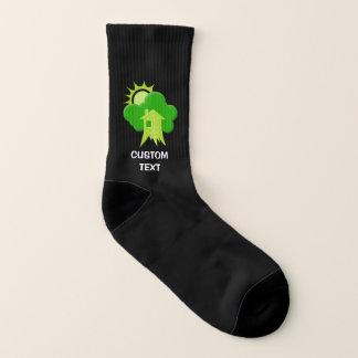 Green House Socks