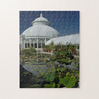 Green House The Bronx New York. Jigsaw Puzzle