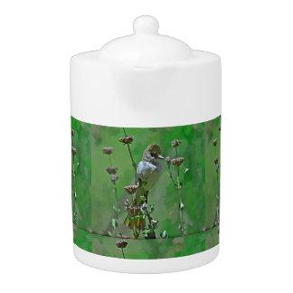 Green Hummer Medium Tea Pot