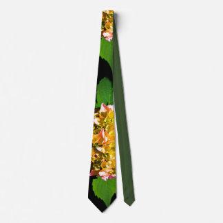 Green Hydrangeas Tie
