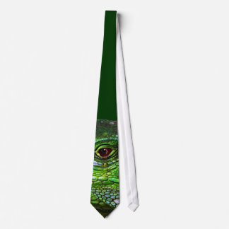 Green Iguana Collection Tie