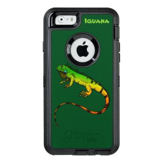 Green Iguana Reptile OtterBox iPhone 6/6s Case