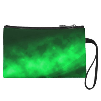 Green Immersion Party Clutch Wristlet Clutches