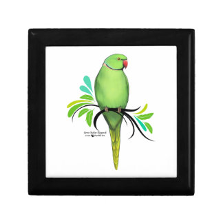 Green Indian Ringneck Parrot Gift Box