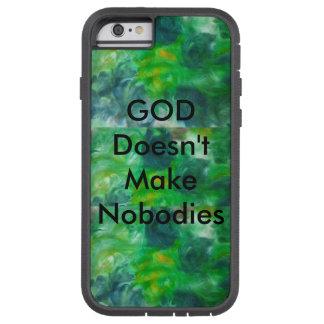 Green Inspirational X Tough iPhone Case