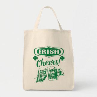 Green Irish Cheers Tote