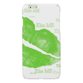 Green Irish Lips - Kiss Me Typography