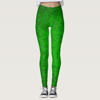 Green Irish Queen Plush Leggings