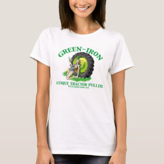 Green Iron Antique Tractor Pullers T-Shirt