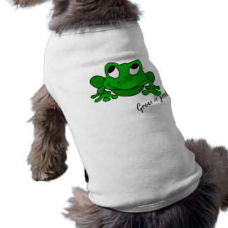 Green is Good Doggie T-shirt