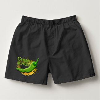 Green is HOT Boxers