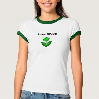 Green Is In T-Shirt
