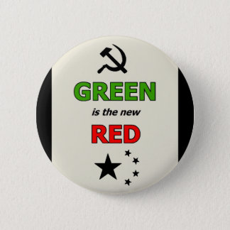 Green is the new Red pin