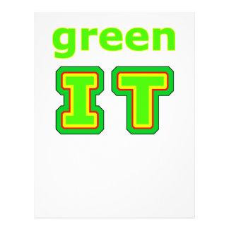 green IT The MUSEUM gibsphotoart Flyers