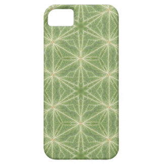 Green Ivy Leaf Geometric Design Phone Case