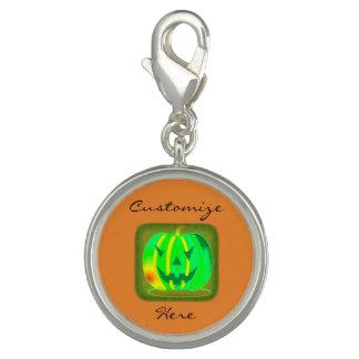 Green Jack o'lantern Halloween Thunder_Cove Charm