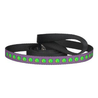 Green Jack o'lantern Halloween Thunder_Cove Pet Leash
