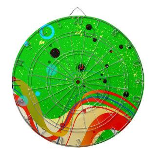 Green Jazz Background Dartboard