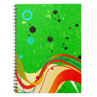 Green Jazz Background Notebooks