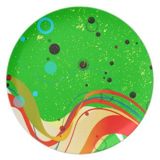 Green Jazz Background Plate