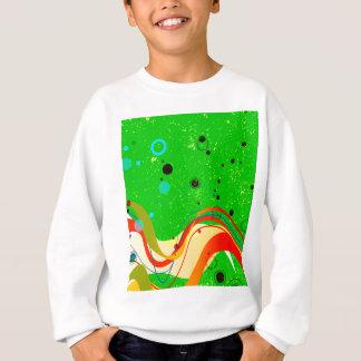 Green Jazz Background Sweatshirt