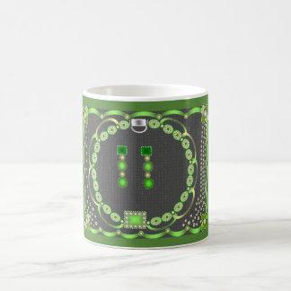 Green Jewel Mug