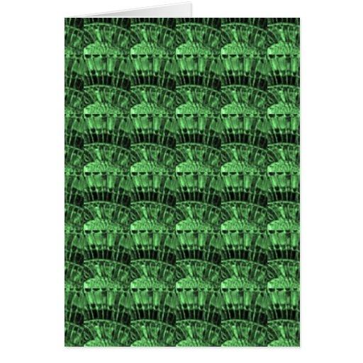 GREEN JEWELS - earthern emerald art   LOWPRICE gif Card