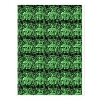 GREEN JEWELS - earthern emerald art   LOWPRICE gif Postcard
