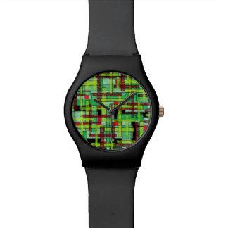 green jungle watch