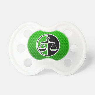Green Justice Scales Pacifier
