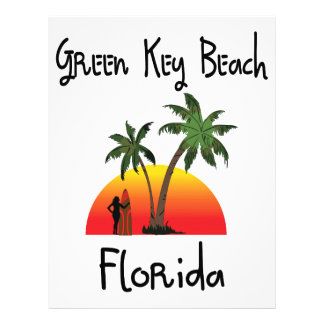 Green Key Florida Custom Letterhead