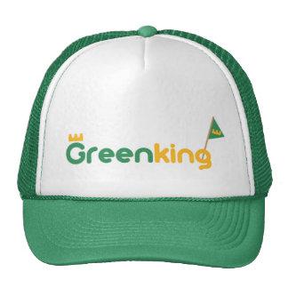 GREEN King HAT KING