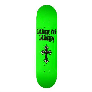 Green King of Kings Skateboard Deck