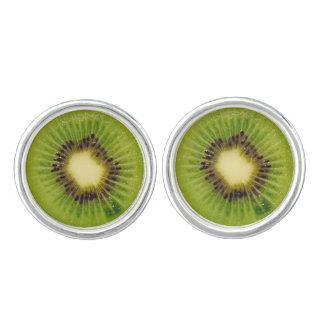 Green Kiwi Delicious 4Penelope Cufflinks