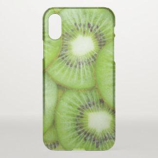 Green Kiwi Fruit iPhone X Case