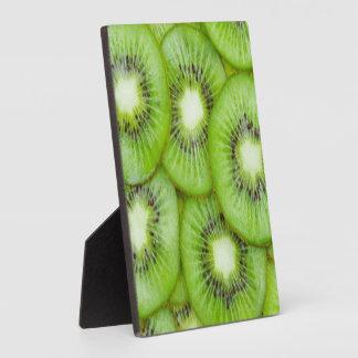 Green Kiwi Fruit Plaque