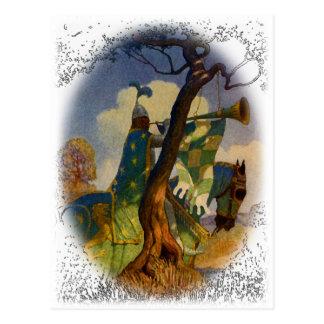 Green Knight Postcard