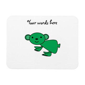 Green koala magnet