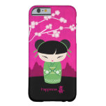 Green Kokeshi - happiness Barely There iPhone 6 Case