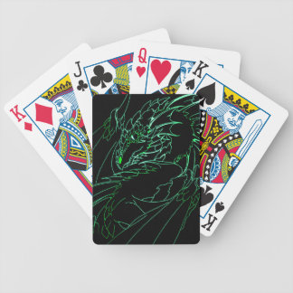 Green Kunzite Poker Deck