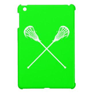 Green Lacrosse Sticks iPad Mini Case
