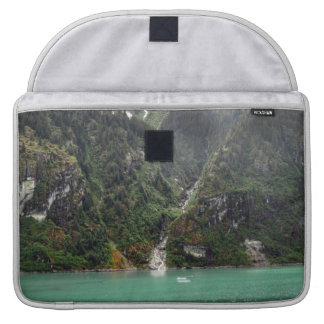 Green Landscape Macbook Sleeve