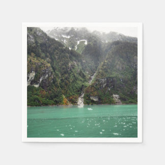 Green Landscape Napkins Paper Napkin